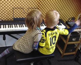 Instrumentenkarussell Klavier